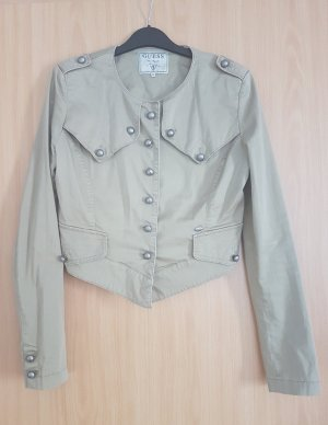 Guess Jacke, Blazer, M, khaki, grün, Military Look
