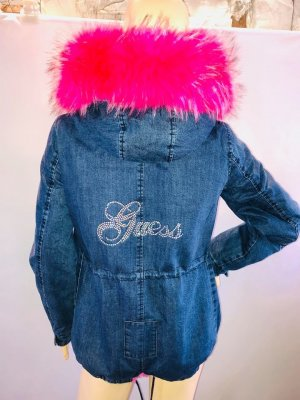 Guess Jacke in gr M Farbe Pink Jeans