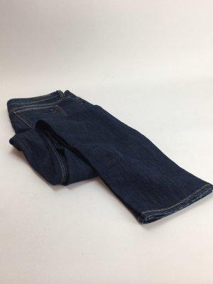 Guess Jeans a gamba dritta blu scuro