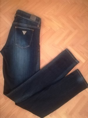 Guess Jeans Tube Jeans steel blue cotton