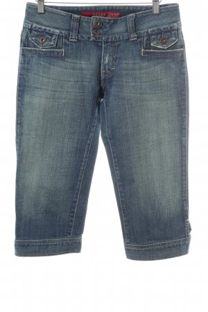 Guess Jeans 3/4 Jeans stahlblau Casual-Look