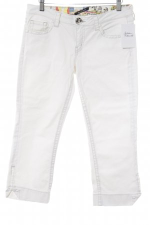 Guess Jeans 3/4 Jeans weiß Casual-Look