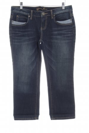 Guess Jeans Jeans a 7/8 blu scuro look pulito