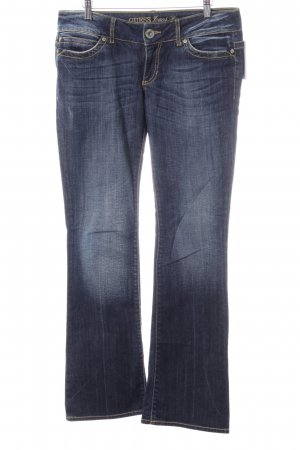 Guess Jeans Boot Cut Jeans blau Casual-Look
