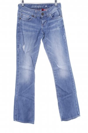 Guess Jeans Boot Cut Jeans himmelblau Casual-Look