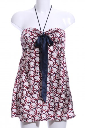 Guess Jeans Bustier Top abstract pattern elegant
