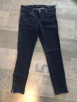 Guess Jeans dunkelblau silber Gr. 27