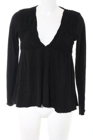 Guess Jeans Empire Waist Shirt black casual look