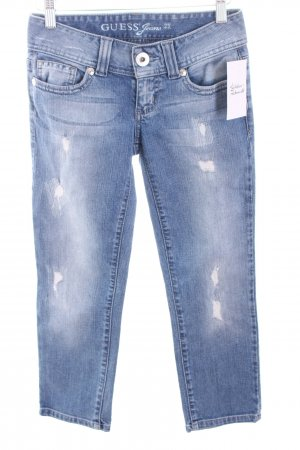 Guess Jeans hellblau Destroy-Optik