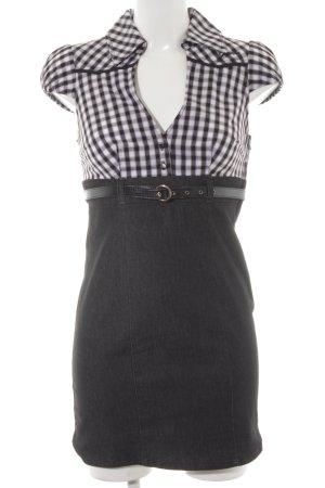 Guess Jeans Abito blusa camicia motivo a quadri stile professionale