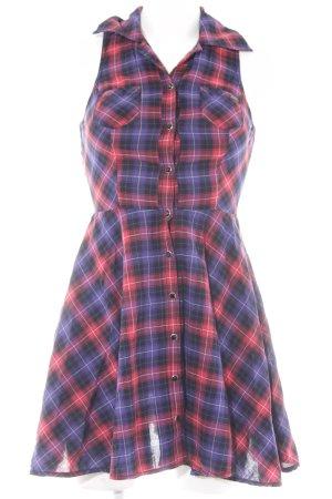 Guess Jeans Robe chemise motif à carreaux style décontracté