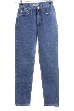 Guess Jeans High Waist Jeans blau Casual-Look