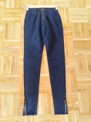 Guess Jeggings dark blue cotton