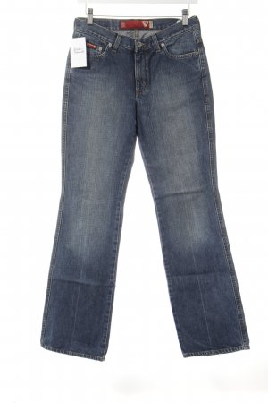 Guess Jeans Hüftjeans dunkelblau Casual-Look
