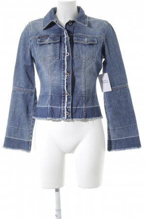 Guess Jeans Jeansjacke blau Street-Fashion-Look