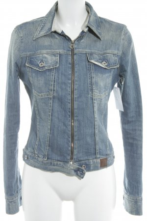 Guess Jeans Jeansjacke mehrfarbig Casual-Look
