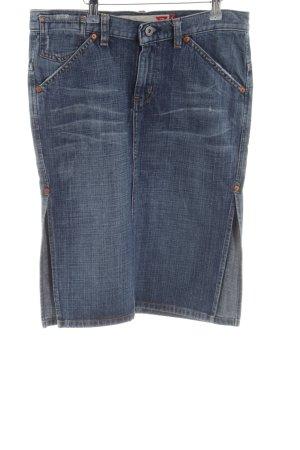 Guess Jeans Gonna di jeans blu stile casual