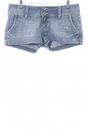 Guess Jeans Jeansshorts blau Casual-Look