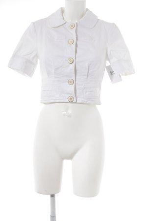 Guess Jeans Veste courte blanc style décontracté