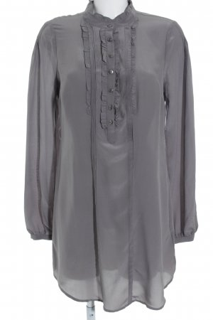 Guess Jeans Langarm-Bluse grau Elegant