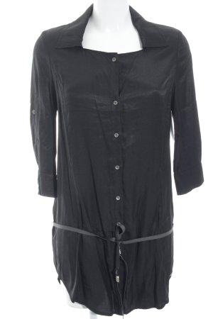 Guess Jeans Long-Bluse schwarz klassischer Stil