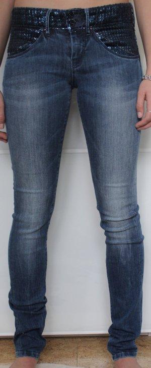 Guess Pantalone blu-blu scuro
