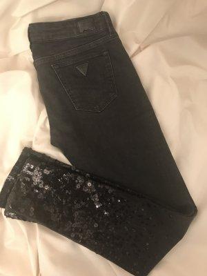 Guess Jeans mit Pailletten Gr. 34 Neu