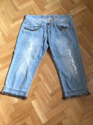Guess Jeans Jeans 3/4 bleu pâle