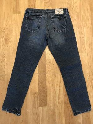 Guess Jeans Vaquero pitillo azul oscuro