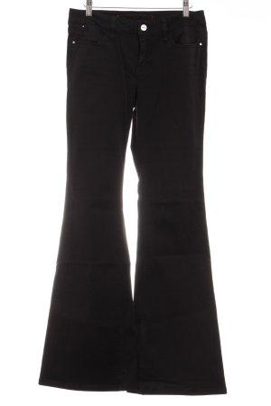 Guess Jeans Schlaghose schwarz klassischer Stil