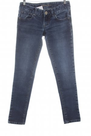Guess Jeans Skinny Jeans stahlblau Casual-Look