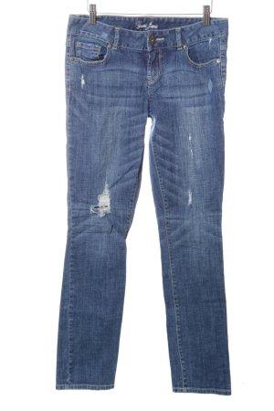 Guess Jeans Slim Jeans blau Casual-Look