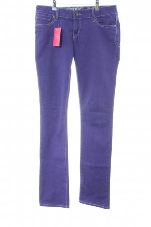 Guess Jeans Slim Jeans lila Casual-Look