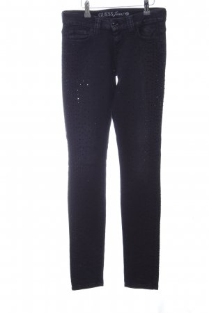 Guess Jeans Slim Jeans schwarz Party-Look