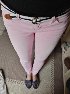 Guess jeans stoff hose mit gürtel gr. 26