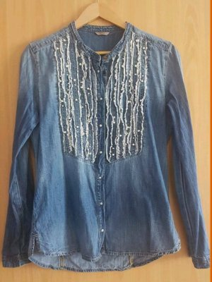 Guess Camicia denim multicolore