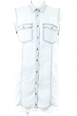 Guess Denim Shirt light blue-black casual look