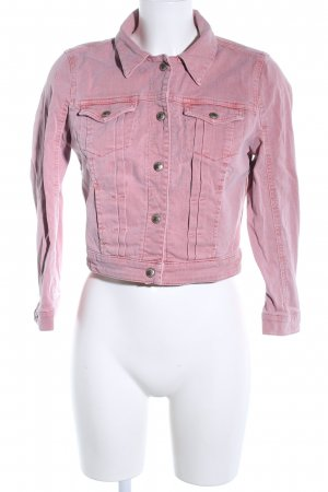 Guess Denim Jacket pink casual look