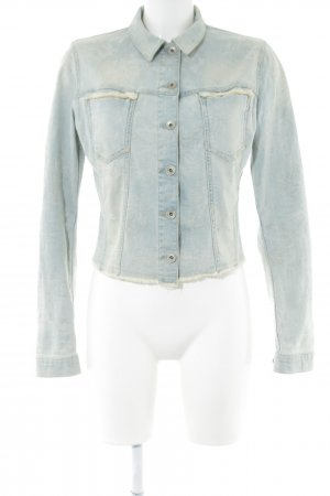 Guess Denim Jacket blue jeans look