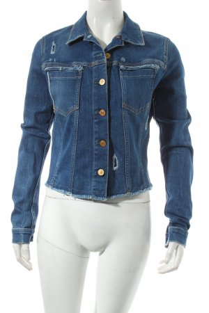 Guess Jeansjacke blau Casual-Look