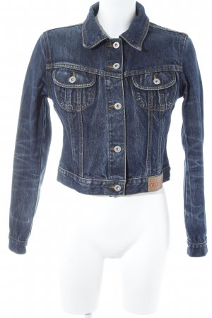 Guess Jeansjacke dunkelblau klassischer Stil