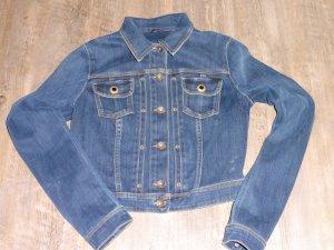 Guess Jeans Denim Jacket blue cotton