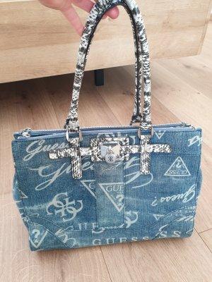 Guess Jeansoptik-Handtasche