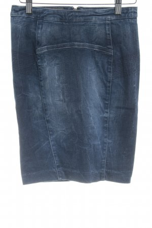 Guess Denim Skirt dark blue party style
