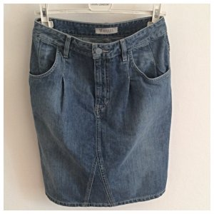 GUESS, Jeansrock, hoher Bund, cooler Streetstyle