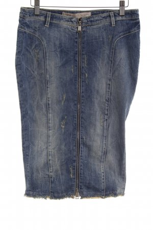 Guess Denim Skirt cornflower blue casual look