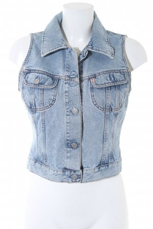 Guess Denim Vest light blue street-fashion look