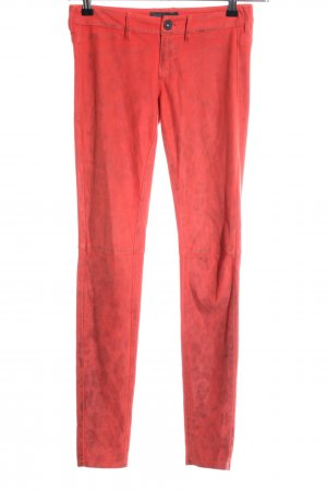 Guess Jeggings red leopard pattern casual look
