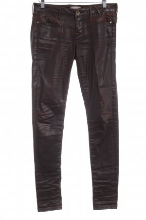 Guess Jeggings braunrot Motivdruck Casual-Look