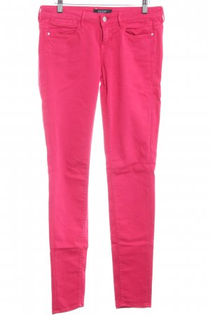 Guess Jeggings magenta stile casual